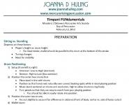Joanna D Huling: Timpani FUNdamentals Page 1